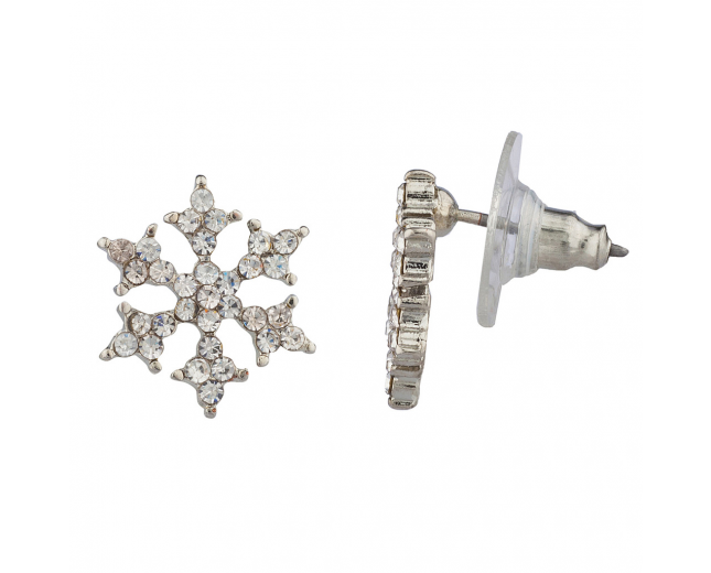 Winter Holiday Christmas Snowflake Earring