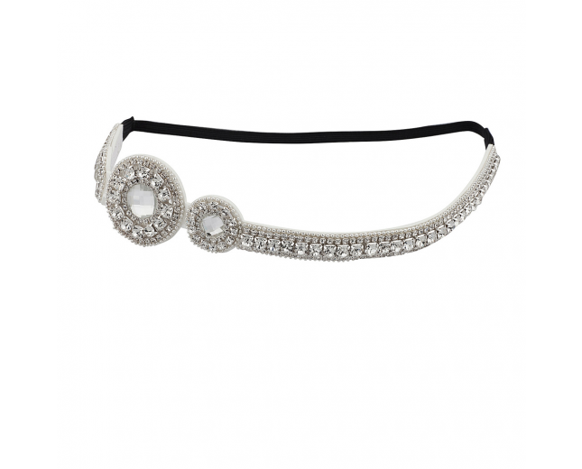 Bling Goddess Bridal Bride Head wrap