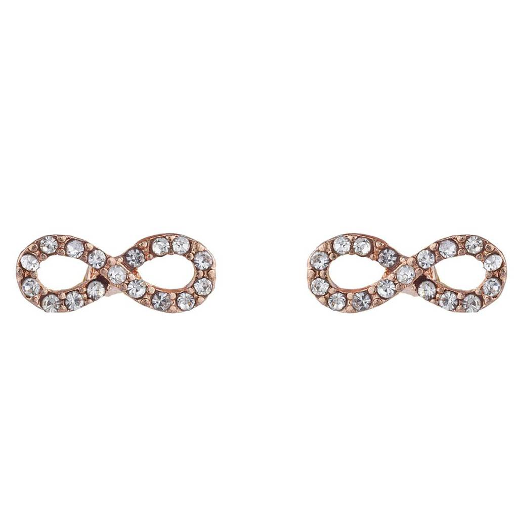 infinity pin stud earrings jewelry womens