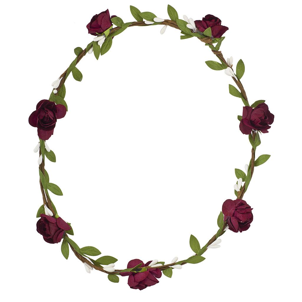 Wine festival hair garland leaves flower crown flower headband izmirmasajfo