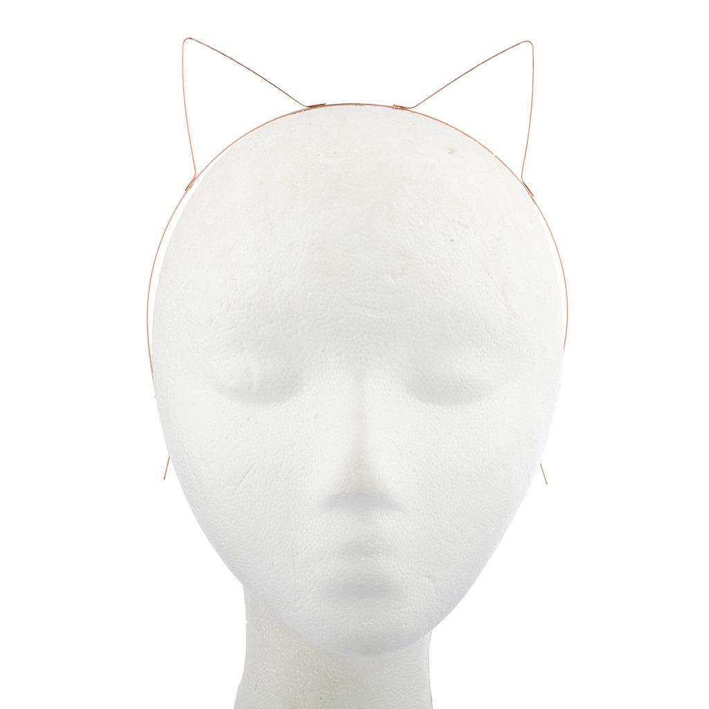 Tri Color Wire Cat Ears Headband Multi Pack Set (3PCS) - Hair ...