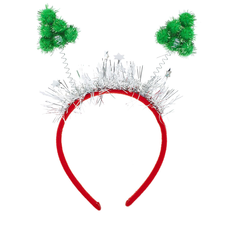 Christmas Headband Png.Christmas Tree Bopper Headband Holiday Party Accessory
