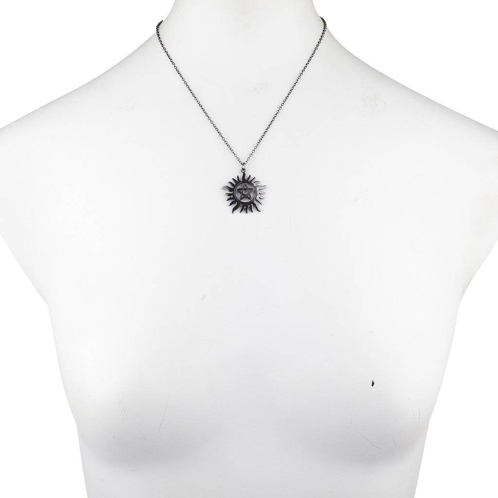 Hematite Anti Possession Symbol Pentagram Novelty Charm