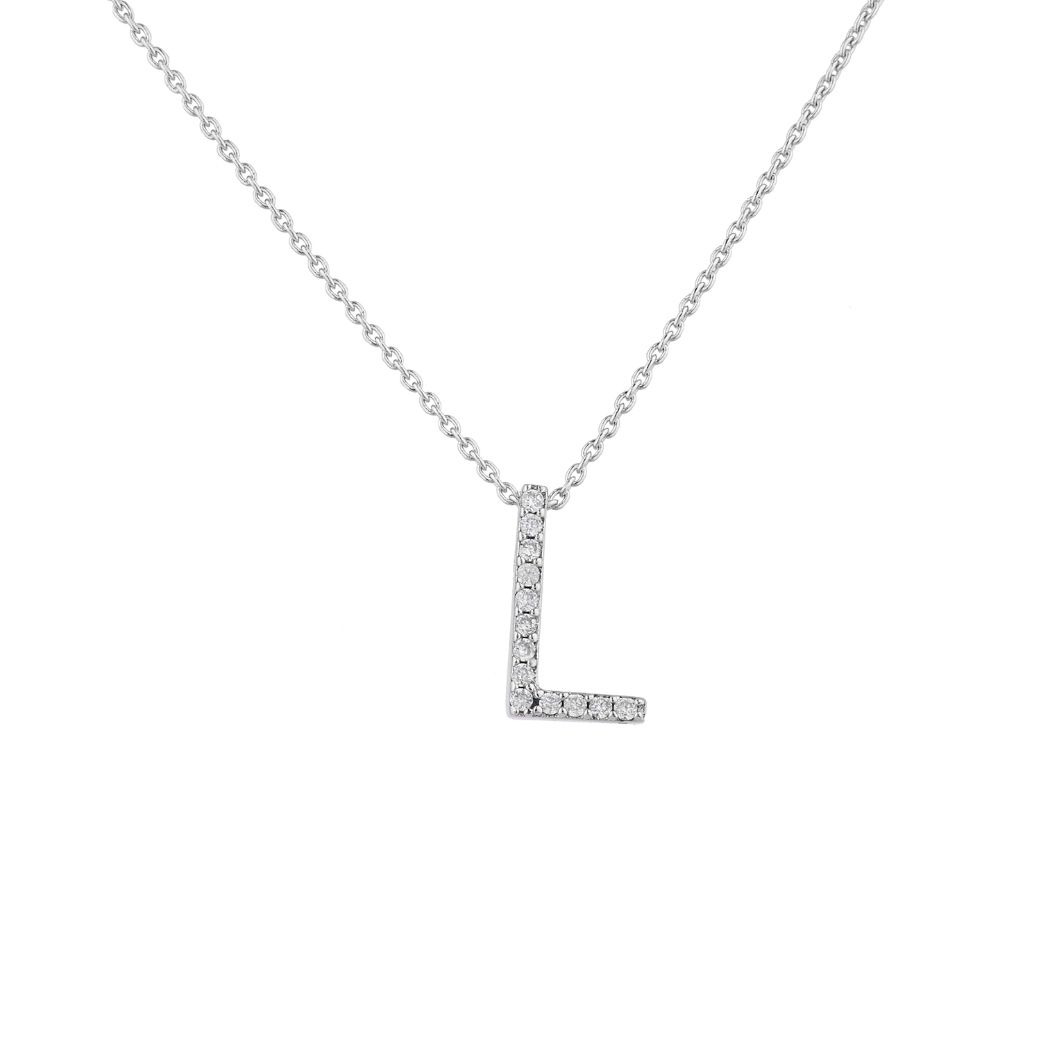 silver cz personalized pendantroundcz round small with pendant necklace sterling