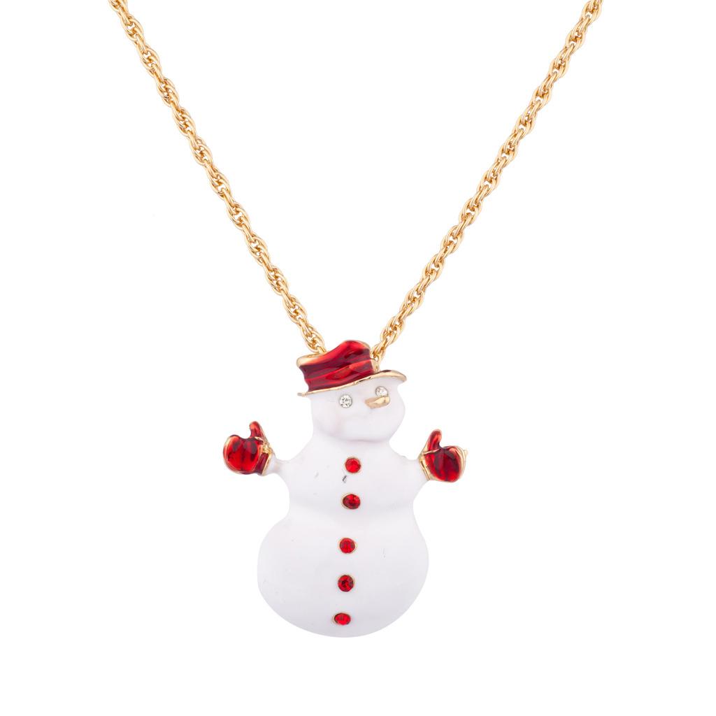 The snowman xmas christmas pendant necklace frosty the snowman xmas christmas pendant necklace aloadofball Choice Image