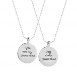 Best Friends BFF You Are My Sunshine Necklaces (2 PC)
