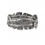 Boho Leaf stretch Bracelet