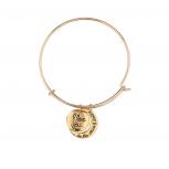 Goldtone to the Moon Bracelet