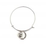 Silvertone to the Moon Bracelet