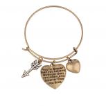 Burnish Gold Braver Than You Believe Bracelet
