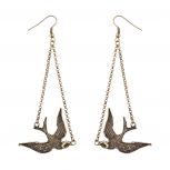 Bird Animal Dangle Zoo Earrings
