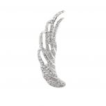 Pave Wing Ear Cuff Crystal
