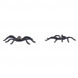 Black Halloween Spider Critter Holiday Costume Earrings