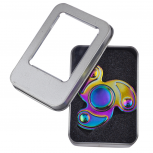 Oil Slick Trendy Kids Adult Tri Toy Fidget Spinner Hand Spinner