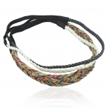 Rainbow Woven Stretch Headband Set Head Band