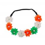 Multicolor Flower Floral Chiffon Headband
