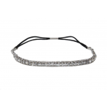 Crystal Rhinestone Stretch Headb