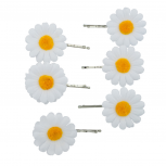 Fabric Sunflower Floral Flower Multi Hair Clip Set