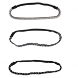 Dark Glitz Stretch Headband set ( 3 Pc )