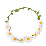 Sunflower Floral Flower Leaf Headband Head Wreath