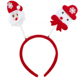 Santa Christmas Holiday Ugly Sweater Party Bopper Headband