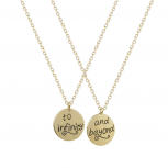 Best Friends BFF To Infinity Beyond Necklaces (2 PC)