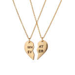 Whatever BFF Best Friends Forever What Ever Necklaces (2 PC)