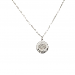 Live Laugh Love Tree of Life Cirlce Pendant Chain Charm Necklace