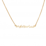 Sagittarius Archer Horoscope Zodiac Word Pendant Necklace
