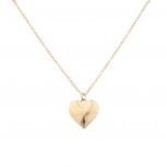 Simple Delicate Heart Pendant Love Necklace