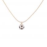 Sporty Soccer Ball Football Pendant Necklace