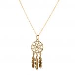 Tribal Dreamcatcher Leaf Owl Elephant Spear Arrow Interchangeable Pendant Necklace
