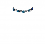 Set includes Classic Floral Tattoo Choker