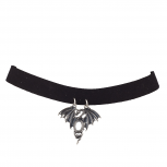 Black Fantasy Dragon Cosplay Halloween Choker Necklace