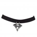 Black Fantasy Dragon Cosplay Halloween Choker Necklace