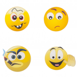 Emoji Different Faces Pin Set (4PCS)