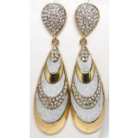 Stone Detail Drop Earrings
