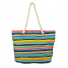Womens Extra Large Zip Up Beach Tote Bag Aztec Pastel Line