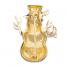 Christmas X-mas Holiday Snowman Enamel and Gold Tone Brooch